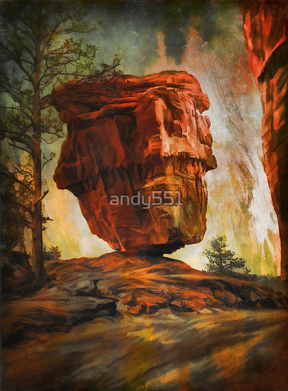 Balanced Rock  by andy551