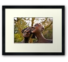 Happiness is...........  Framed Print