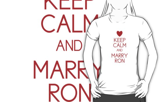 Keep Calm and Marry Ron by babibell
