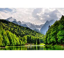 German Mountain Photographic Print