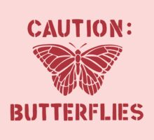 Caution: Butterflies by sweav