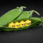 Lego peas in a pod by Kevin  Poulton - aka &#x27;Sad Old Biker&#x27;