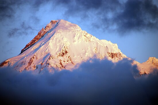 Mt Hood at Sunset by Jennifer Hulbert-Hortman