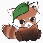 Cute Red Panda by Dumpling