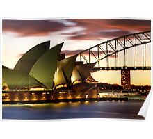 Sydney Icons Closeup Poster