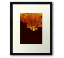These Streets Framed Print