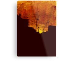 These Streets Metal Print