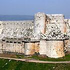 Crac des Chevaliers, Homs, Syria by Justine Chesterman
