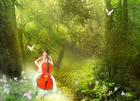 Forest Music by Nadya Johnson