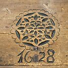 Wood Carving 1628 AD by Lee d'Entremont