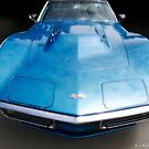 Corvette Blue Dream by Randall Robinson