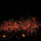 Australia Day Fireworks, Perth Foreshore by JVGMcGhie
