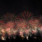 Australia Day Sky Works, Perth Foreshore by JVGMcGhie