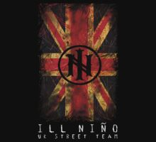 Distressed Union Jack - Ill Nino UK Street Team by illninouk