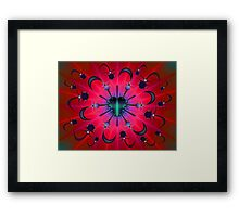 Potex Bug and Anti-Virus Framed Print