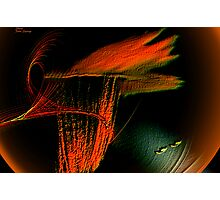 THE OLYMPIC FLAME Photographic Print