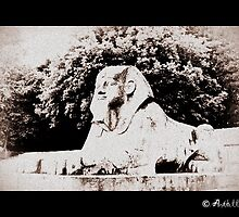 Crystal Palace Sphynx by anthillmob74
