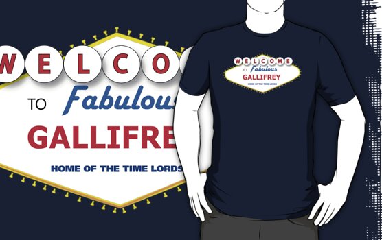 DOCTOR WHO WELCOME TO GALLIFREY by thischarmingfan