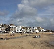 Low tide at St Ives by Irina Chuckowree