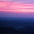 Smokey Mountain Sunset by Peyton Duncan