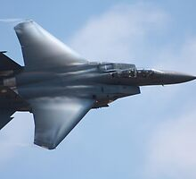 American F -15 Strike Eagle by Jacob Gomez