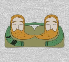 The sleepy beards  by Scott Barker