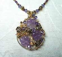 Amethyst Pendant by Erica Long