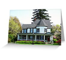 The House Next Door ~ Lewiston, NY Greeting Card