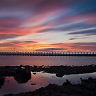 Amble Sunset by Philip  Whittaker