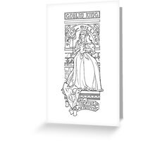 Theatre de la Labyrinth Greeting Card