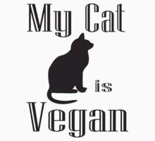 My Cat is Vegan by veganese
