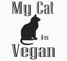 My Cat is Vegan by veganese