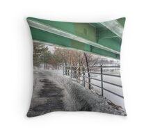 Concealed Sky Throw Pillow
