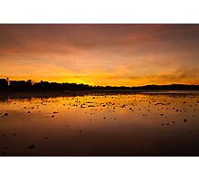 Smoky Sunset, Rowes Bay Photographic Print
