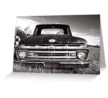 Retired FORD  Greeting Card