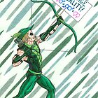 Emerald Archer For Marriage Equality by KevennTSmith