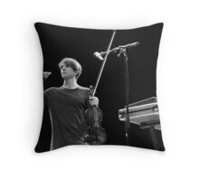 Owen Pallett Throw Pillow