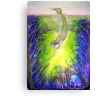 Mermaid's Garden Canvas Print