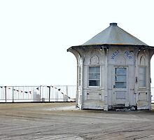 West Pier Derelict Information Centre by Matthew Floyd