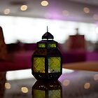 Arabic lamp by Helen Shippey