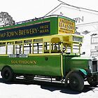 Southdown Bus 1920s by hootonles