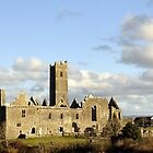 Quin Abbey, County Clare, Ireland  by Finbarr Reilly