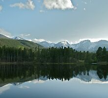 Sprague Lake by Farhad Aziz