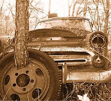""""""" Tired """" Old Mercury ...............being recycled by bulldawgdude"""