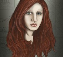 Mermaid portrait by LauraMSS