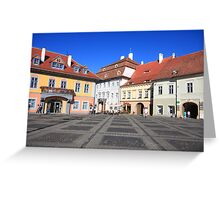 City square Greeting Card