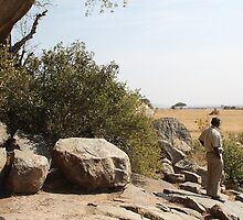 Maasai Rock Art Site, Tanzania by Carole-Anne