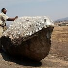 Beating Drum Rock, Tanzania  by Carole-Anne