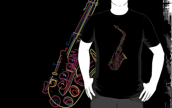 Saxophone by Richard Laschon