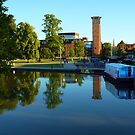 Royal Shakespeare Theatre, Stratford upon Avon by artfulvistas
